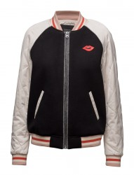 Bomber Jacket With Contrast Sleeves