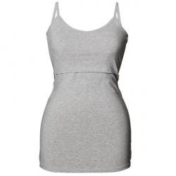 Boob Classic Nursing Singlet - Light grey * Kampagne *