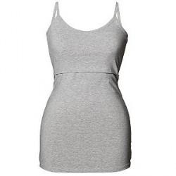 Boob Classic Nursing Singlet - Light grey - Small