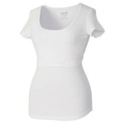 Boob Nursing Short Sleeve - White * Kampagne *