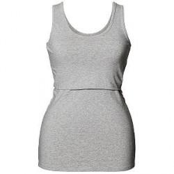 Boob Nursing Singlet - Light grey - Small