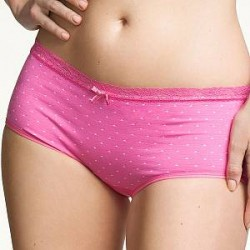 Boob Seamless Brief Dotted - Pink - Small