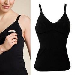Boob Warming Wool Singlet - Black * Kampagne *