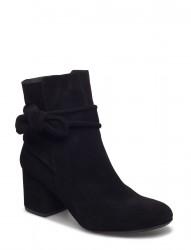 Bootie - Block Heel - With Zippe