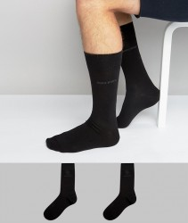BOSS 2 Pack Socks - Black