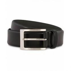 Boss Barnabie Leather Belt 3,5 cm Black