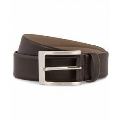 Boss Barnabie Leather Belt 3,5 cm Dark Brown