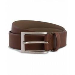 Boss Barnabie Leather Belt 3,5 cm Medium Brown