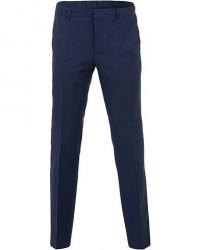 Boss Ben Wool Trousers Mid Blue