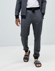 BOSS bodywear cuffed joggers - Black