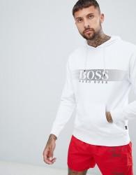 BOSS bodywear hoodie - White