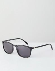 BOSS By Hugo Boss Square Sunglasses In Matte Black - Black