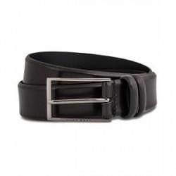 Boss Carmello Leather Belt 3,5 cm Black