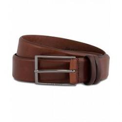 Boss Carmello Leather Belt 3,5 cm Medium Brown