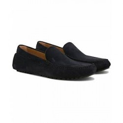 Boss Driver Moccasin Loafer Navy Suede