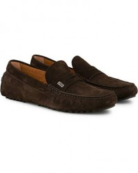 Boss Driver Suede Carshoe Brown men UK9 - EU43