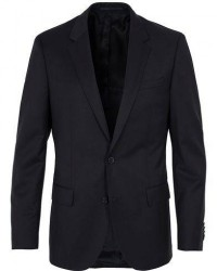 Boss Hayes Regular Fit Wool Blazer Black men 52 Sort