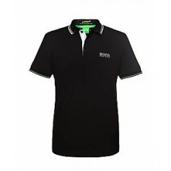 Boss Hugo Boss Green Paddy Pro Polo 50260312 (SORT, LARGE)