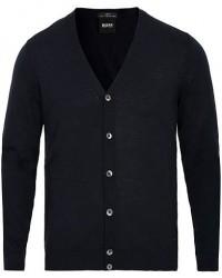 Boss Mardon Merino Wool Cardigan Dark Navy men XL