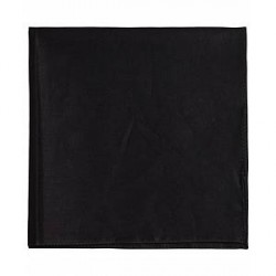 Boss Pocket Square Black