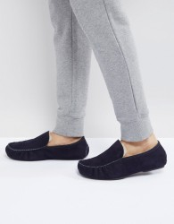 BOSS Relax Slippers in Navy - Navy