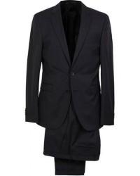 Boss Ryan Slim Fit Wool Suit Black men One size Sort