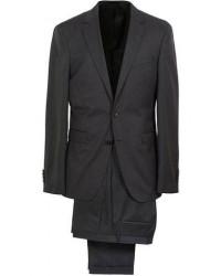 Boss Ryan Slim Fit Wool Suit Charcoal men One size Grå