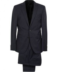 Boss Ryan Slim Fit Wool Suit Dark Blue men One size Blå
