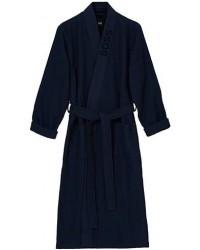 Boss Waffle Kimono Dark Blue men L Blå