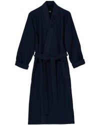 Boss Waffle Kimono Dark Blue men XL Blå