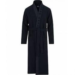 Boss Waffle Kimono Dark Blue