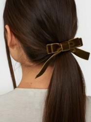 Bow19 Velvet Hair Elastic Håraccessories
