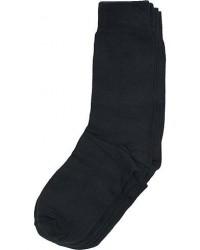 Bread & Boxers 2-Pack Socks Black men One size Sort
