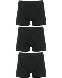 Bread & Boxers 3-Pack Boxer Brief Black men S Sort