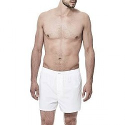 Bread & Boxers Bread and Boxers Boxer Short - White - Large