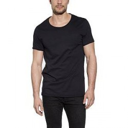 Bread & Boxers Bread and Boxers Crew Neck Relaxed - Black - Large