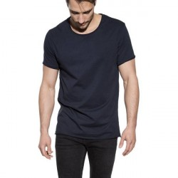 Bread & Boxers Bread and Boxers Crew Neck Relaxed - Navy-2 * Kampagne *