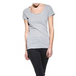 Bread & Boxers Bread and Boxers Crew Neck Relaxed Woman - Grey - X-Small