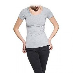 Bread & Boxers Bread and Boxers Crew Neck Woman - Grey - Large