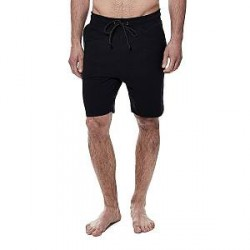 Bread & Boxers Bread and Boxers Lounge Short - Black - Small