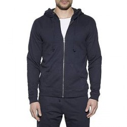 Bread & Boxers Bread and Boxers Men Hoodie - Navy-2 - X-Large