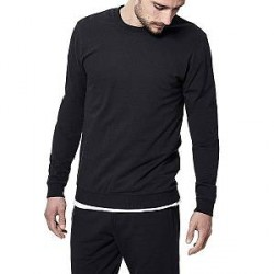 Bread & Boxers Bread and Boxers Sweatshirt - Black - X-Large
