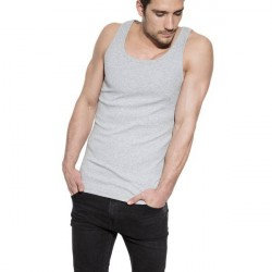 Bread & Boxers Bread and Boxers Tank Ribbed - Grey * Kampagne *