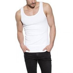 Bread & Boxers Bread and Boxers Tank Ribbed - White - Large