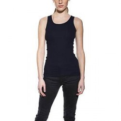 Bread & Boxers Bread and Boxers Tank Ribbed Woman - Darkblue - Medium