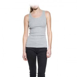 Bread & Boxers Bread and Boxers Tank Ribbed Woman - Grey * Kampagne *