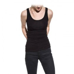 Bread & Boxers Bread and Boxers Tank Woman - Black * Kampagne *
