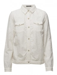 Broderie Shirt Jacket
