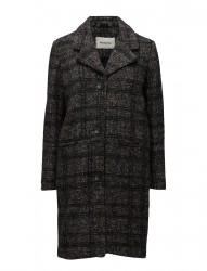 Brooklyn Check Coat