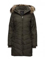 Brooklyn Ladies Faux Fur Parka